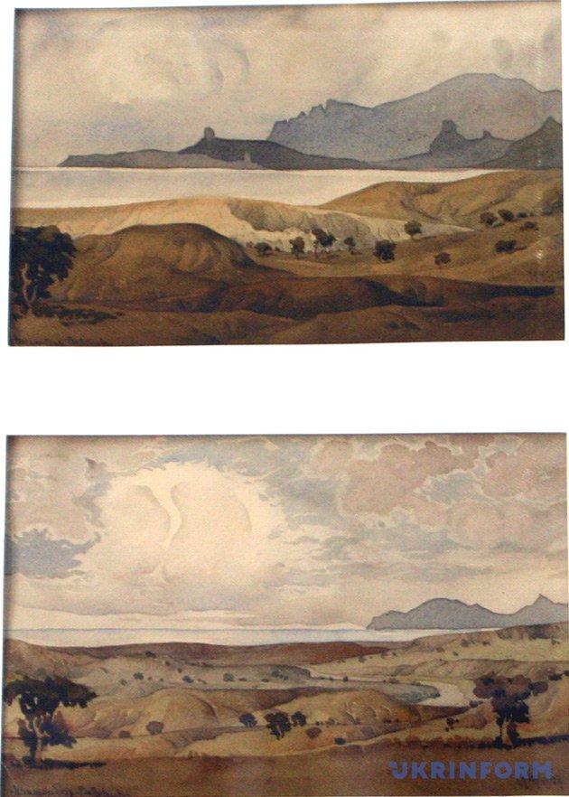 Картины Максимилиана Волошина
