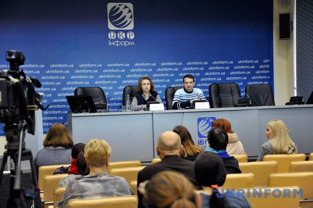 Вадим Свириденко, Наталія Зарецька. Фото: Юрій Ільєнко