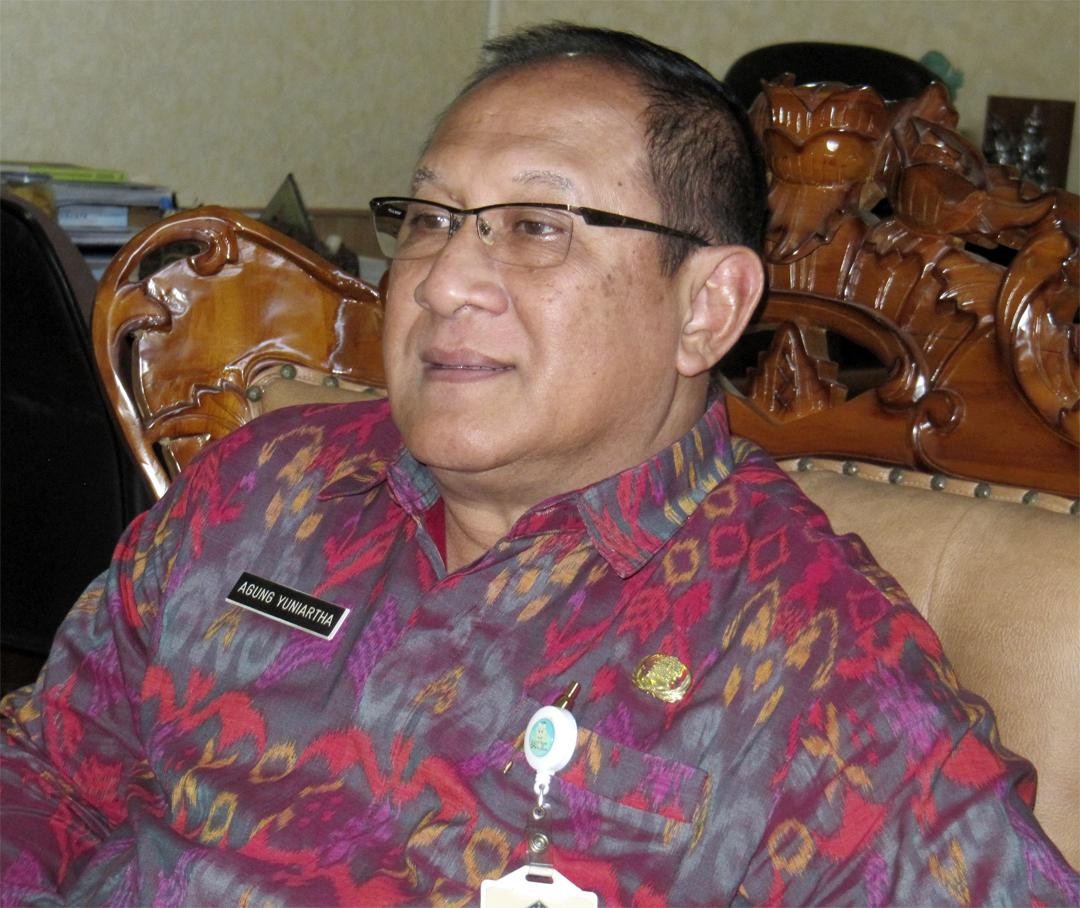 Директор Департамента туризма правительства Бали г-н Агунг Юниарза