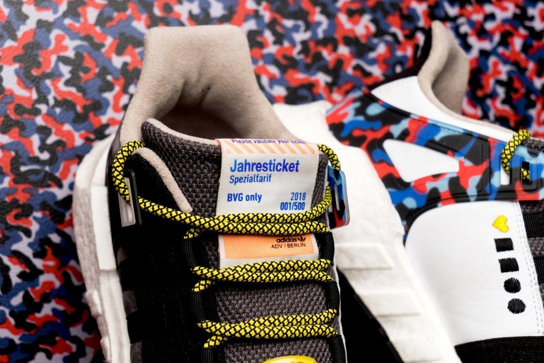 ВБерліні з'являться кросівки від Adidas нового дизайну— із вбудованим проїздним