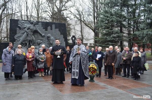 Вшанування пам`яті жертв депортації в Луцьку