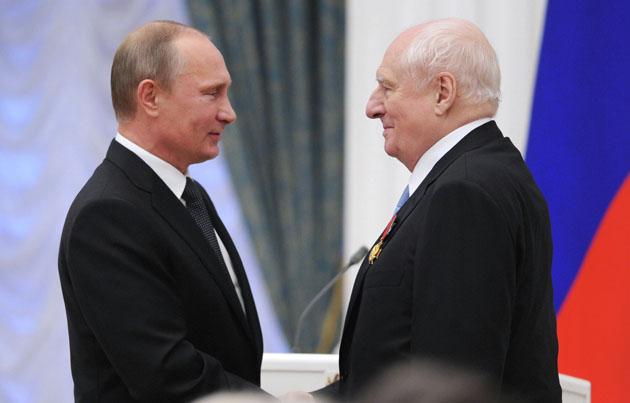 Путин, Захаров / Фото: РИА Новости