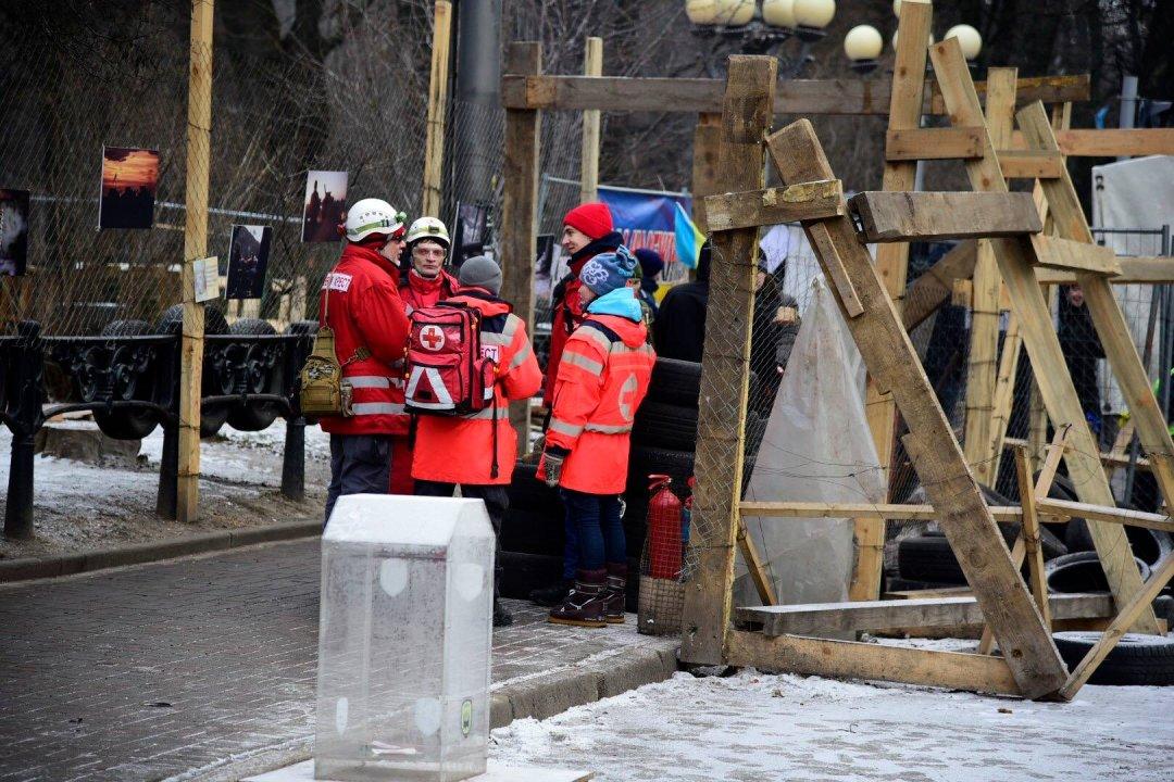 Сутички під Радою: від сльозогінного газу постраждали 20 осіб