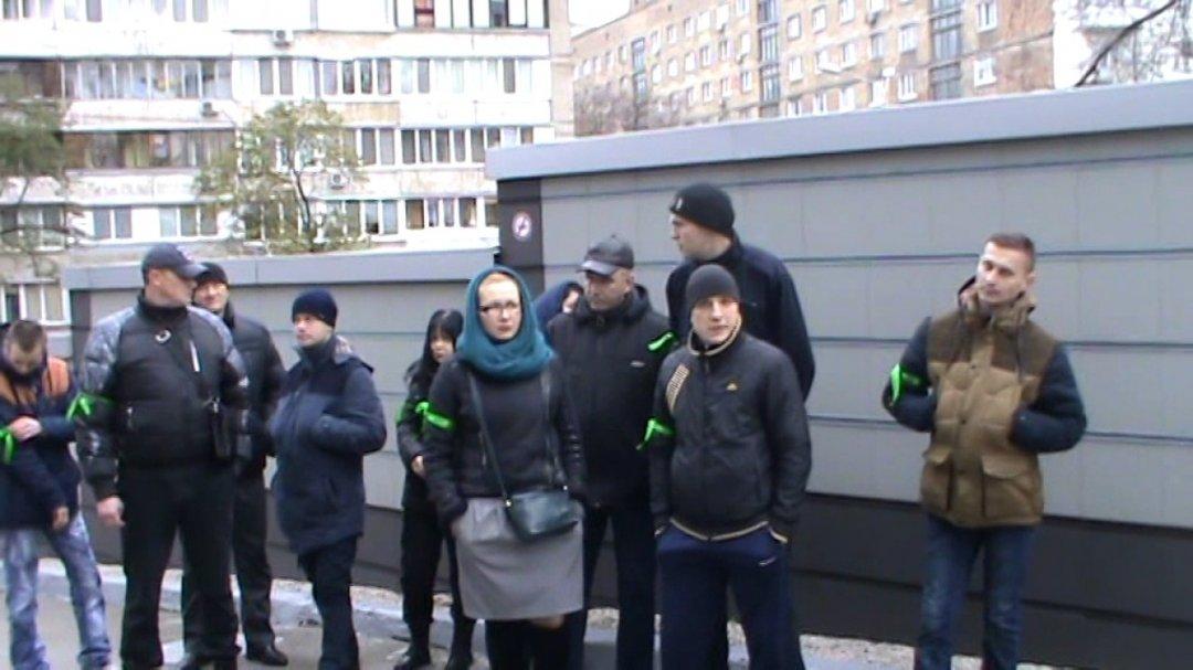 Протест против застройки урочища Бычок