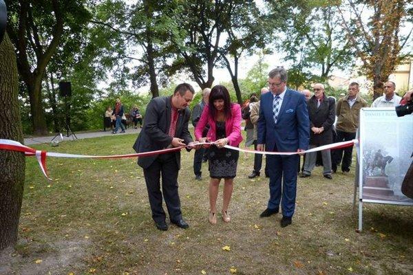 Відкриття парку короля Данила у Холмі