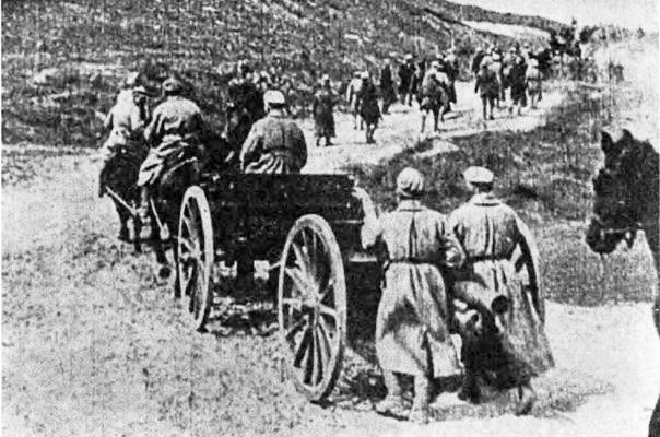 Армія УНР перед форсуванням річки Збруч