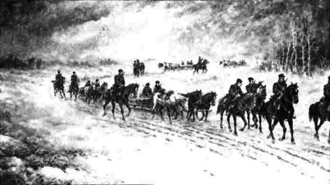Вояки Армії УНР у Зимовому поході