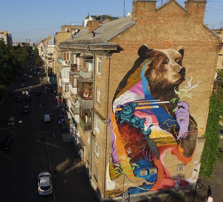 Murales Ucranianos Figuran Entre Las Mejores Obras De Arte Callejero