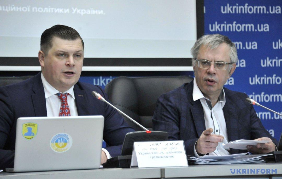 Юрій Артеменко (праворуч), Сергій Костинський