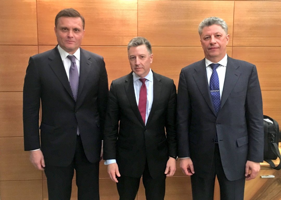 Курт Волкер зустрівся в Києві з Льовочкіним і Бойком