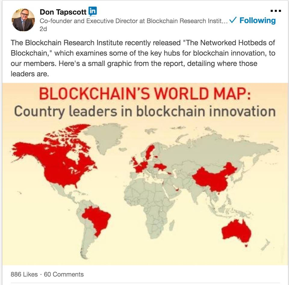 Ukraine listed among leaders in blockchain innovation 26012018 world map of 14 country leaders in the implementation of this breakthrough technology ukraine is among 14 world blockchain leaders yaromolenko wrote gumiabroncs Images