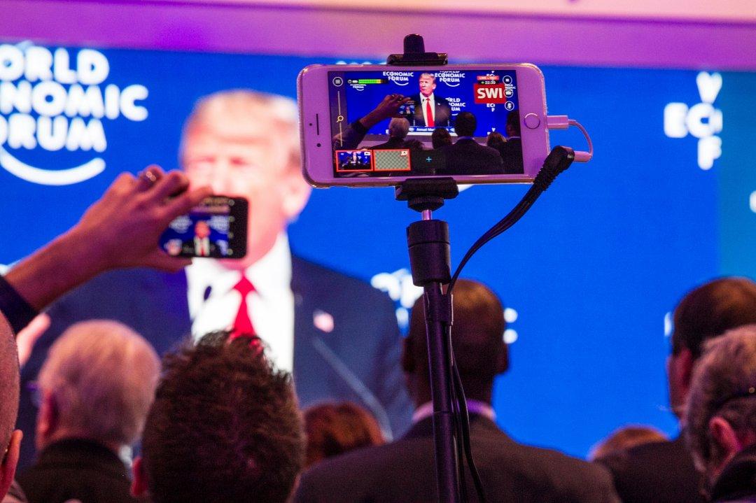 Цього року вперше за тривалий час Давоський форум відвідав президент США / Фото: World Economic Forum