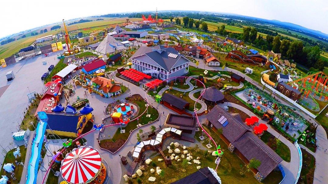 """Найбільший парк розваг у Польщі - """"Енерджиландія"""