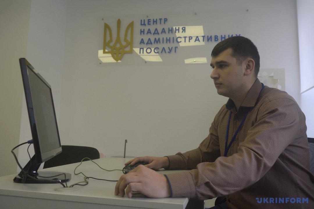 Керівник Северинівського ЦНАПу Владислав Підгаєць.