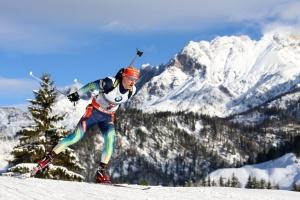 Dmytro Pidruczny wywalczył złoty medal na mistrzostwach świata w biathlonie w biegu pościgowym