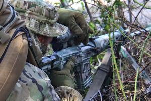 Invaders violate ceasefire near Avdiivka