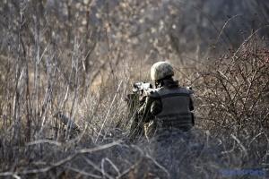 Im Donbass haben Besatzer fast 90 Minen abgefeuert, ein ukrainischer Soldat tot