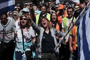 Грецькі освітяни знову влаштували ходу протесту в Афінах