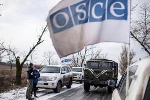 ОБСЄ нарахувала 360 вибухів біля краю ділянки розведення в Золотому