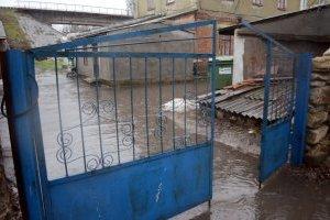 На Львівщині через підйом рівня води в річках можливе затоплення будинків