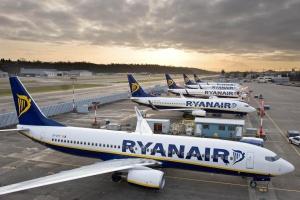 Ryanair realiza su primer vuelo de Italia a Ucrania