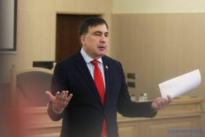 Saakaszwili - Nie mam żadnych ambicji politycznych (wideo)
