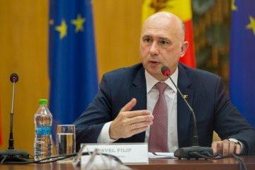 Pavel Filip lud Hrojsman nach Chisinau ein
