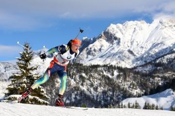 El ucraniano Dmytro Pidruchny gana el oro en el Campeonato Mundial de Biatlón