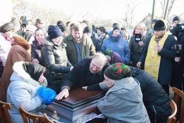 Lawyer Nozdrovska buried in Kyiv region