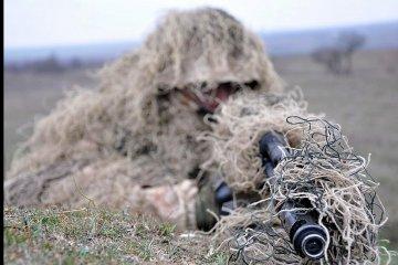 El campeón ruso fue un francotirador en el Donbás