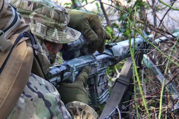 Invaders violate ceasefire near Avdiivka