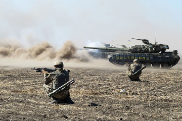 Three Ukrainian soldiers killed, four wounded in Donbas over past day
