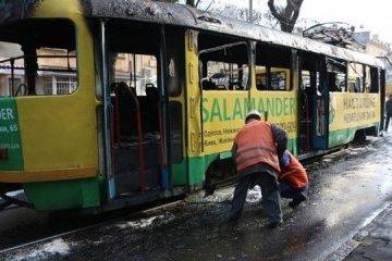 Un tramway a brûlé à Odessa : les passagers ont sauté par les fenêtres (photos, vidéo)