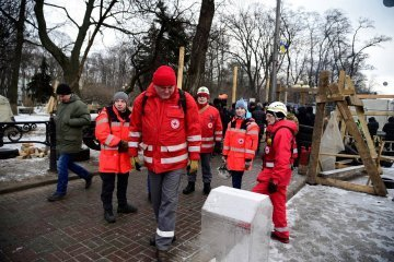 More than 320 tons of humanitarian aid from the Red Cross arrived in Donbas