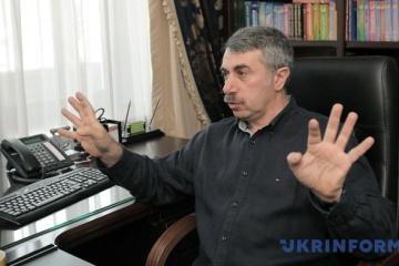 Yevhen Komarovsky, médecin ukrainien, a donné ses prévisions sur la fin de la pandémie