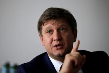 Danyliuk: Minsk format of talks on peaceful settlement should be kept