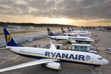 Ryanair streicht 70 Prozent der Flüge aus Kyjiw bis Frühling