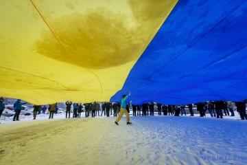 Ucrania celebra el Día de la Unificación