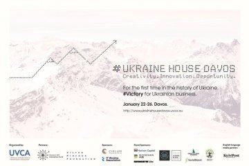"""Casa de Ucrania"" se abre en Davós"
