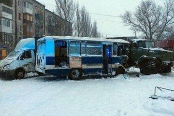 ДТП с участием военного КРАЗа: четверо пострадавших в больнице