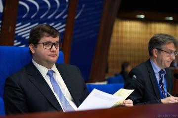 Ariev: La delegación ucraniana ante la APCE se encuentra en condiciones más complicadas que en 2014