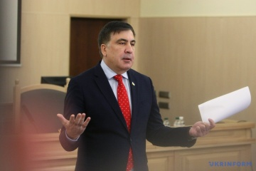 Saakaszwili o znaczeniu współpracy z MFW: To sztuczne oddychanie dla gospodarki