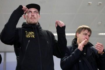 Usyk über Kampf mit Gassiev: Es wird keine Politik sein, sondern ein Boxkampf