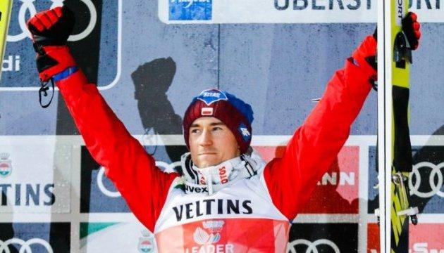 Турне чотирьох трамплінів: Поляк Стох виграв і другий етап