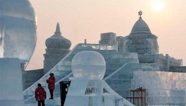 Харбін став майданчиком для змагань льодових скульпторів