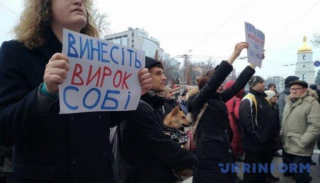 Убивство Ноздровської: активісти розповіли, що їм пообіцяли в ГПУ