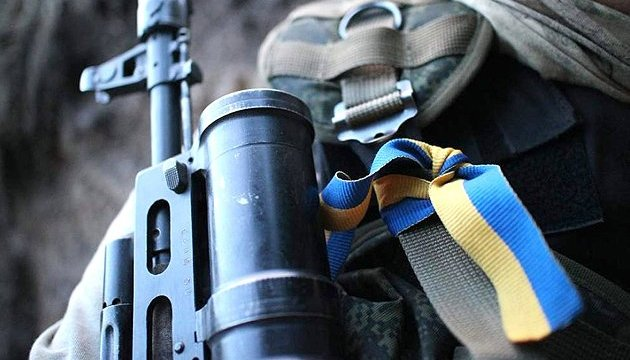 One Ukrainian soldier died after explosive device blew up in Donbas in past day