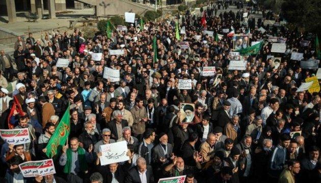 Протесты в Иране: задержаны 90 студентов, судьба 10 остается неизвестной