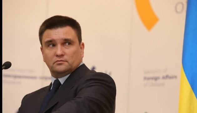 Клімкін хоче, аби гроші на будівництво пунктів через кордон передали у регіони