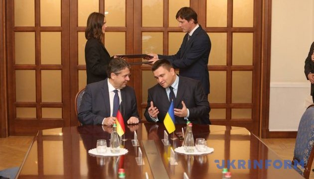 Klimkin, Gabriel postpone joint trip to Donbas due to bad weather